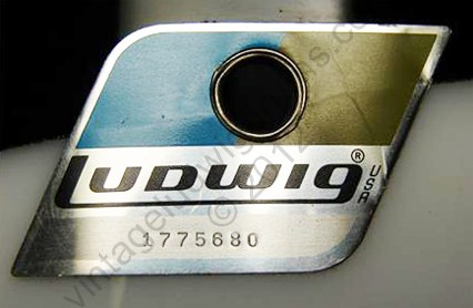 ludwig drum badge history