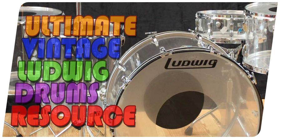 Vintage Ludwig Drums